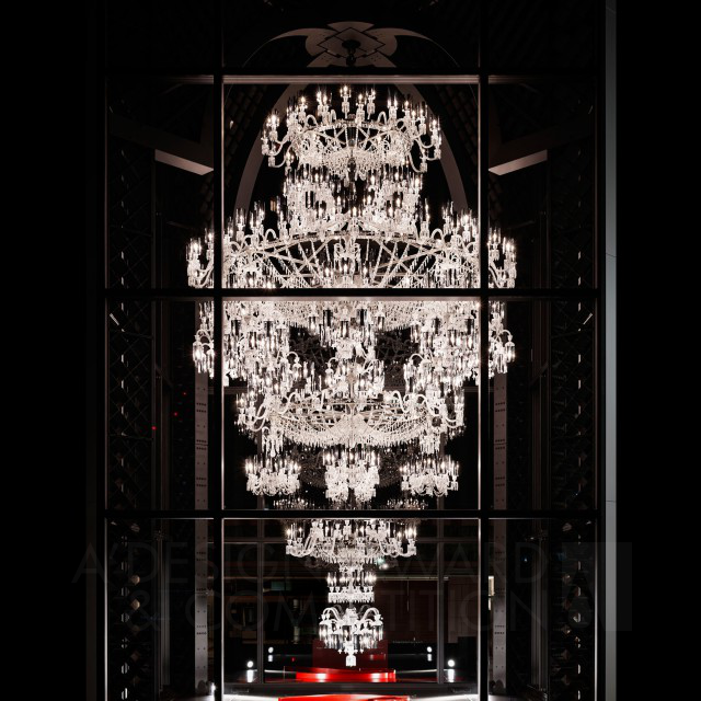 Baccarat 250th anniversary chandelier