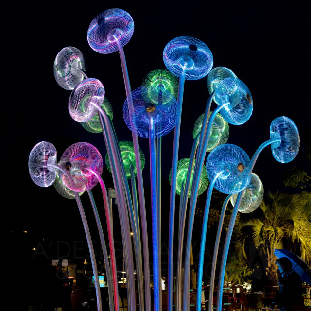 Bubble Forest Escultura Pública