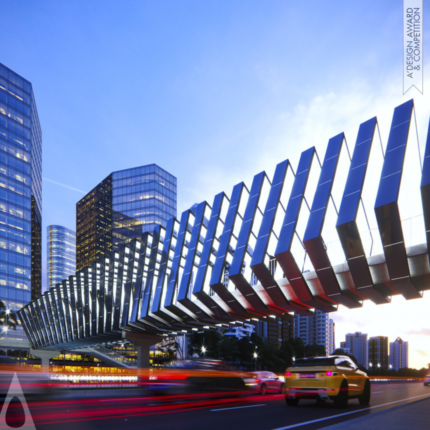 Solar Skywalks Energetic Activation of Footbridges