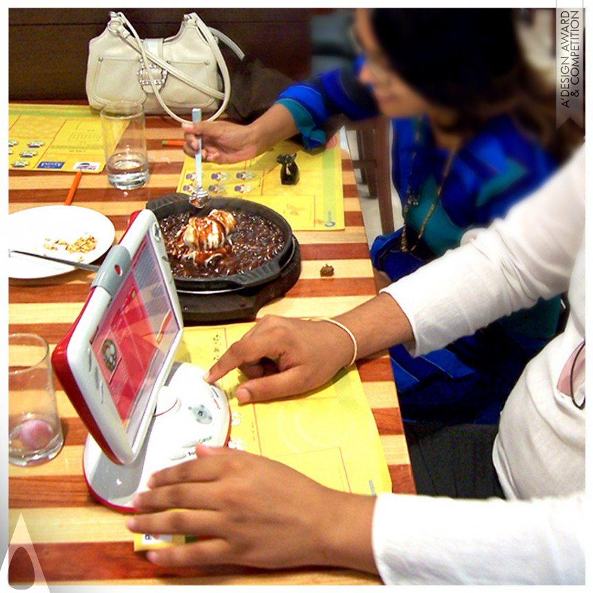 Abhishek Chitranshi Interactive Device for Restaurants