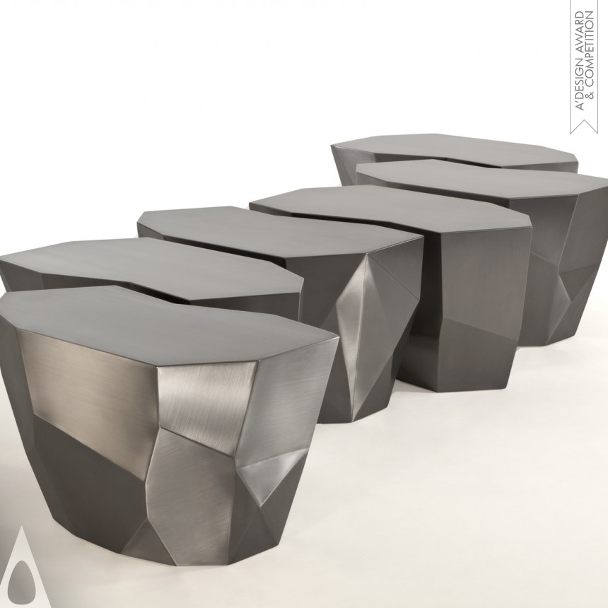 Fernanda Marques Infinite Steel Stool