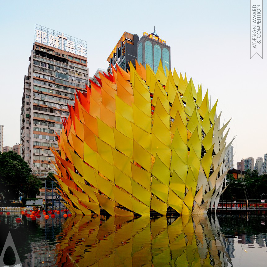 Laboratory for Explorative Architecture & Design Ltd. (LEAD) Golden Moon