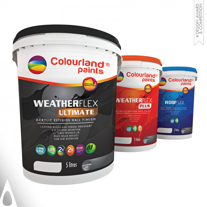 Jeffery yap™ Colourland Paints-Live Up in Colours