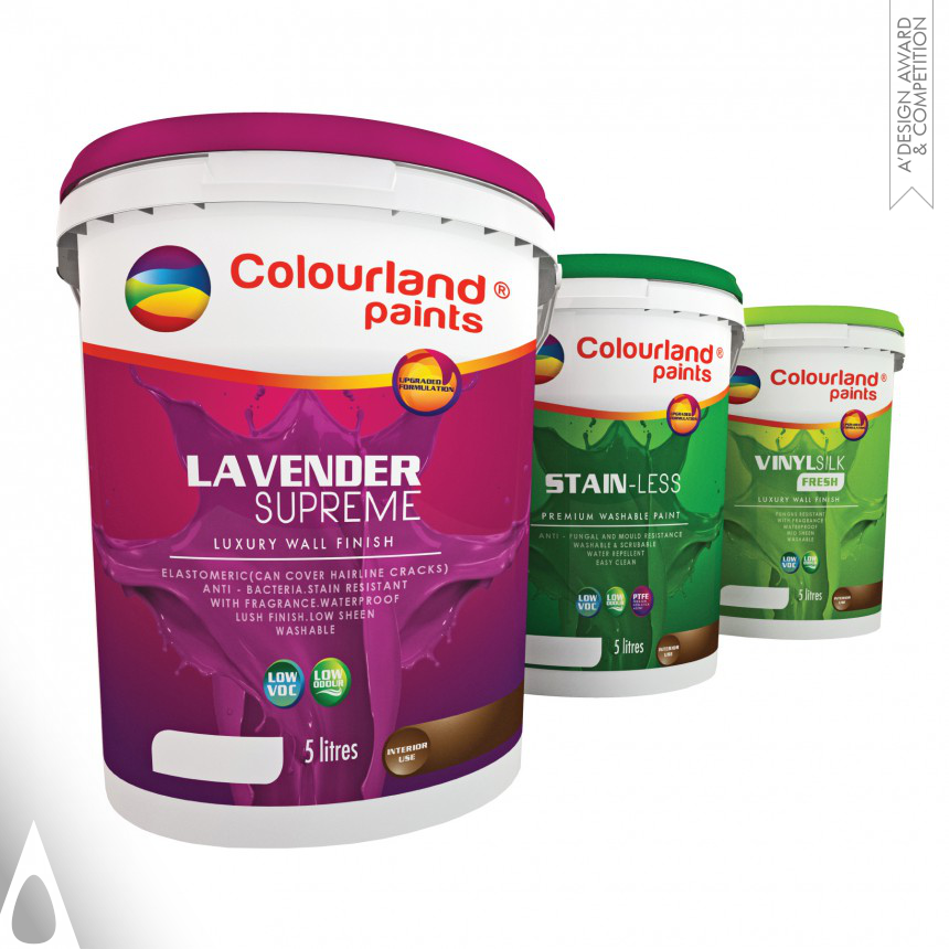 Jeffery yap™ Brand New Packaging Design For Paints