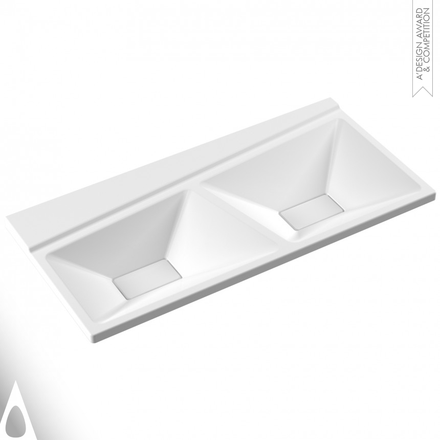SEREL Seramic Factory Double washbasin