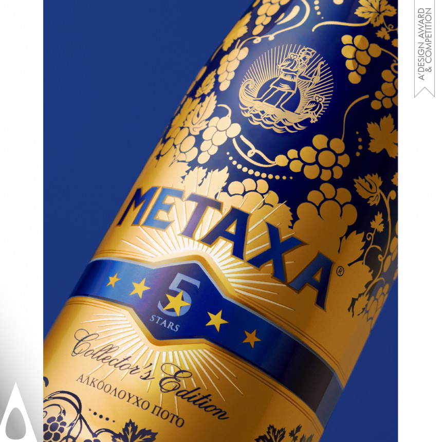 The House of Metaxa Packaging Design
