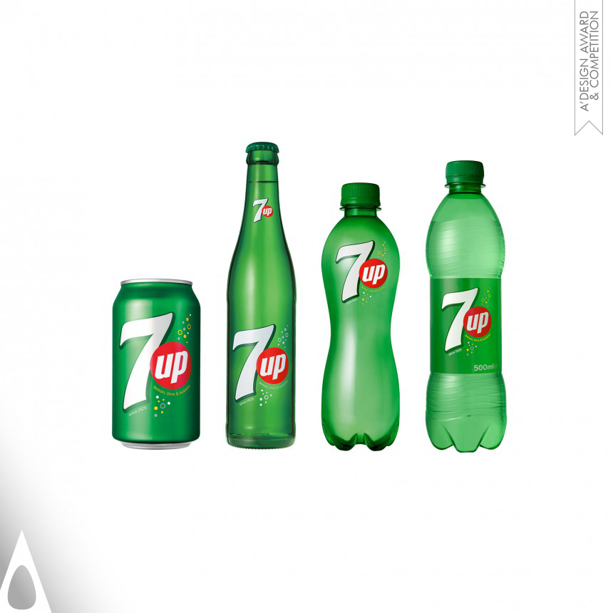 PepsiCo Design & Innovation 7UP Global VIS Redesign