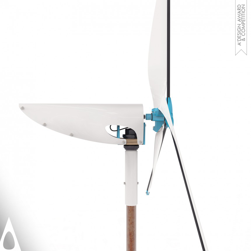 Ben Koros Affordable wind turbine