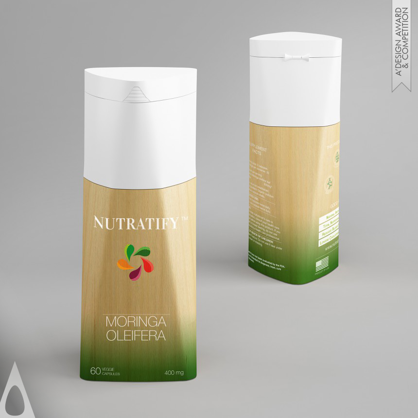 Max Bessone Nutratify packaging
