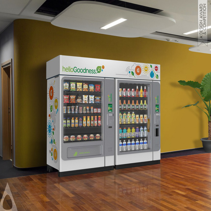 PepsiCo Design & Innovation Vending Machine