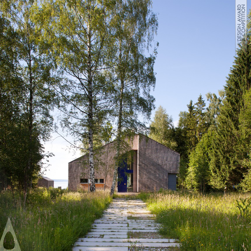 A Design Award And Competition Stephan Maria Lang Lakeside Living House And Garden
