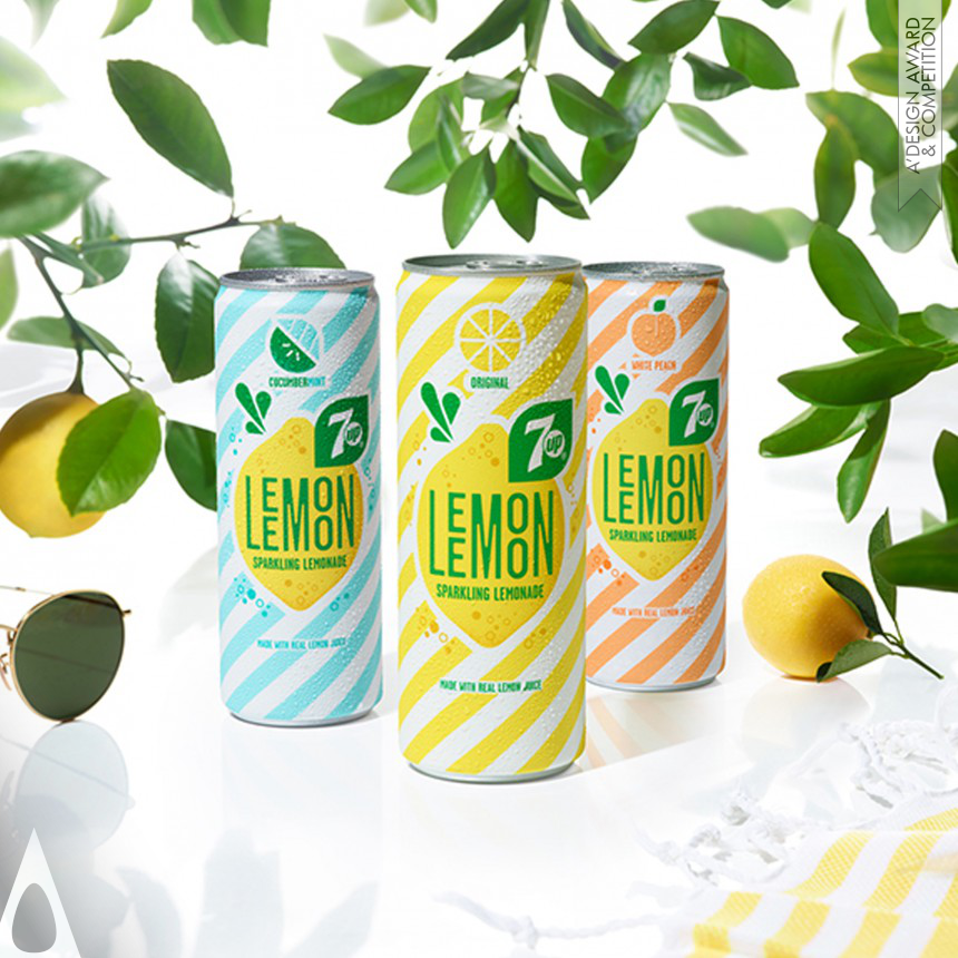 PepsiCo Design and Innovation 7Up Lemon Lemon