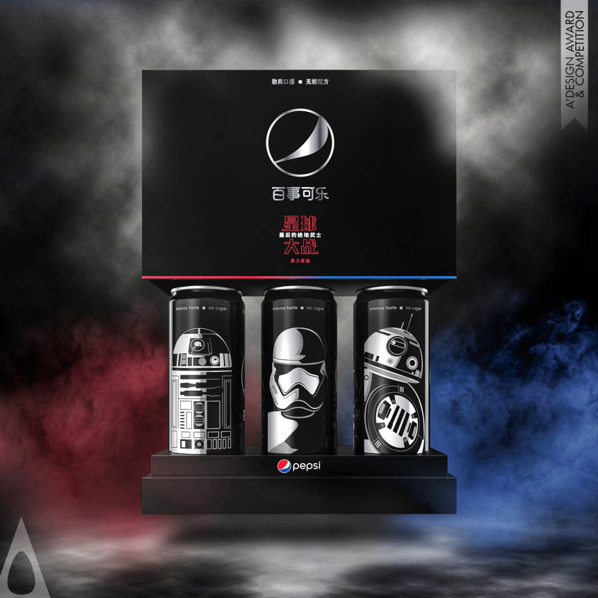 PepsiCo Design and Innovation Pepsi Black x Star Wars LTO China