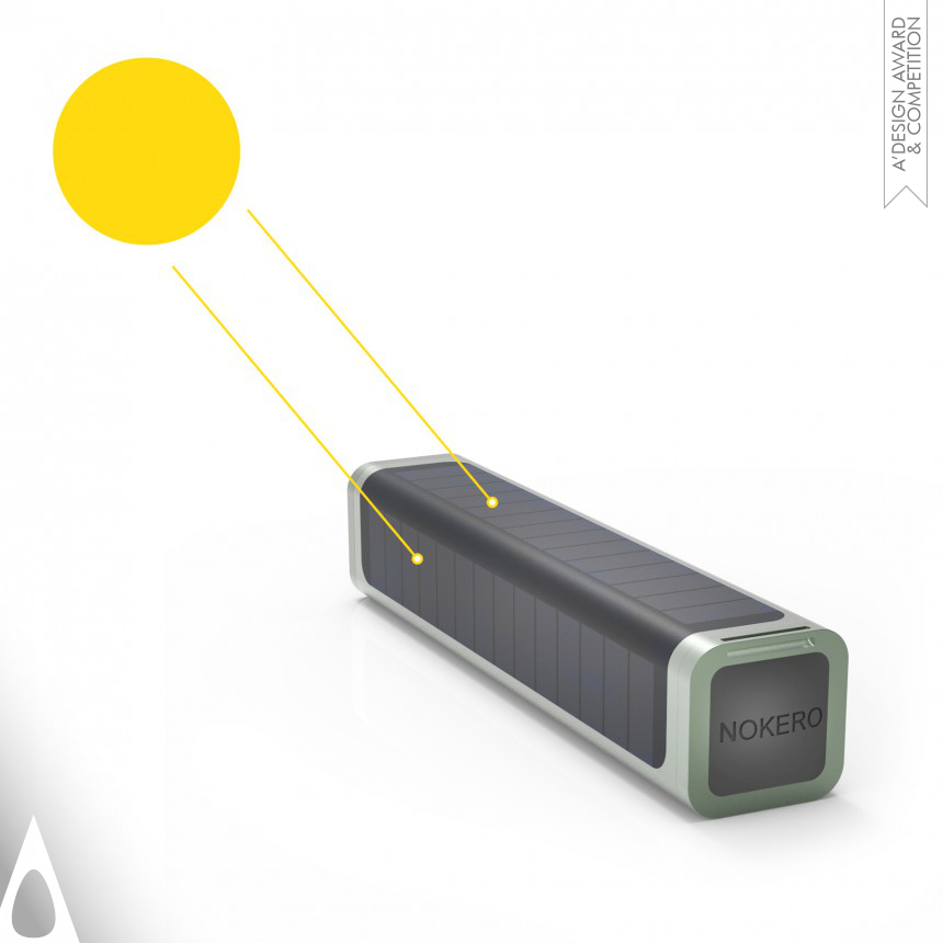 Brook Kennedy Solar powered light