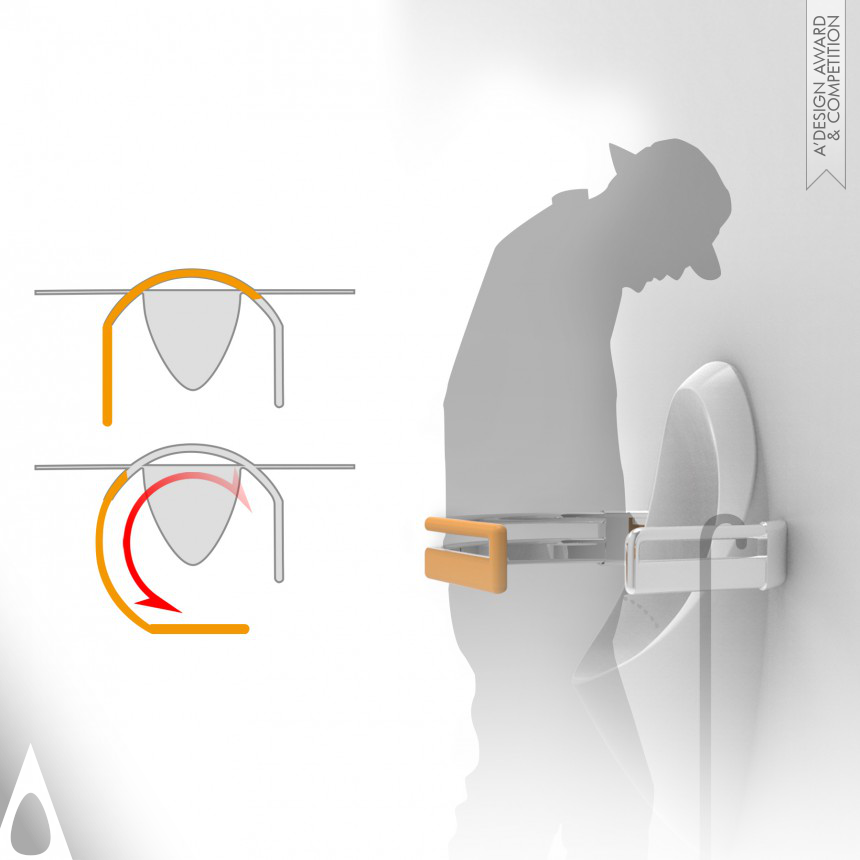 Weizhi Cao Backrest of Urinal