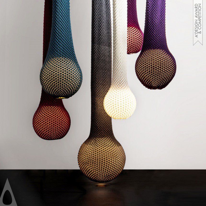 """Knitted"" - Lighting Collection  Unique and original lighting collection"