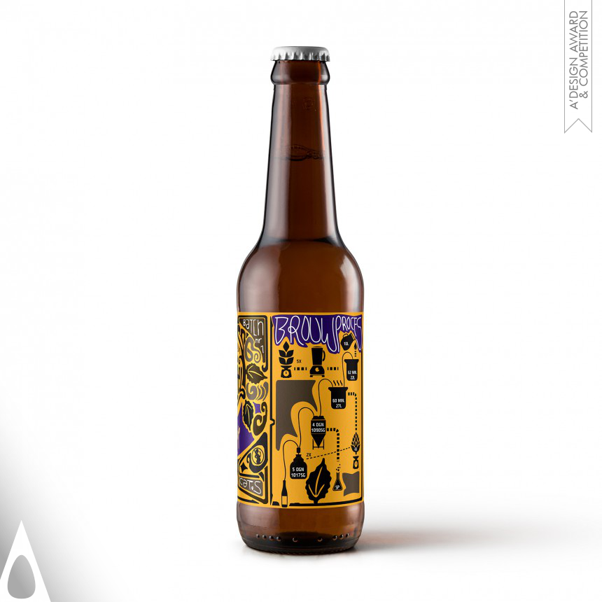 Egwin Wilterdink Beer Label
