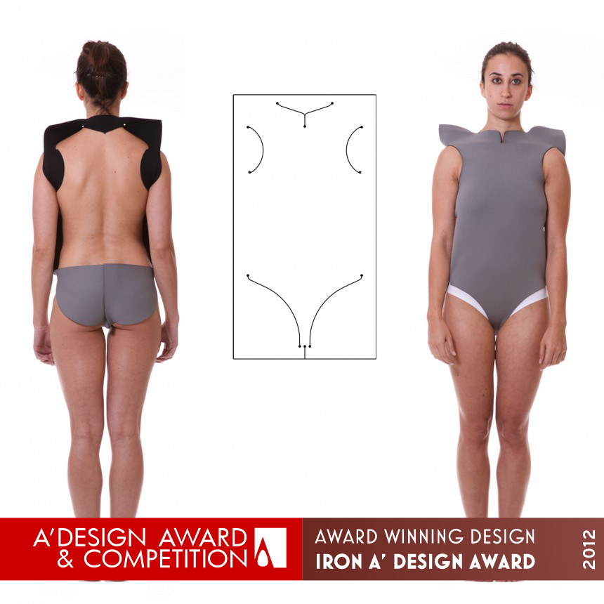 The non seam form 1.0 - body as joint Clothing