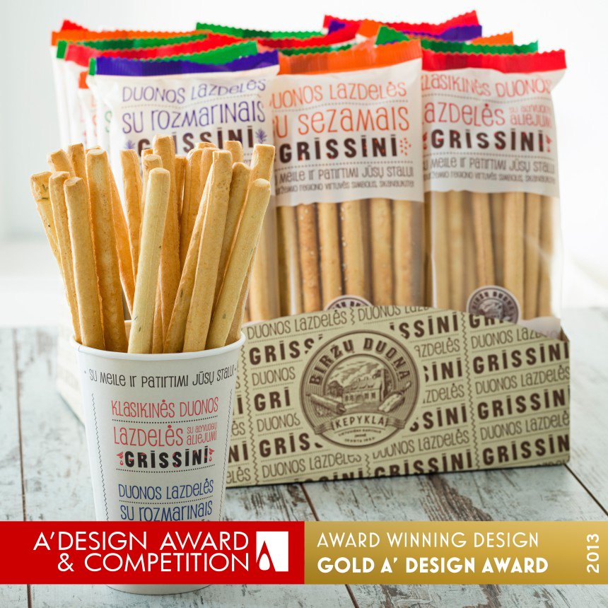 Birzu duona – Grissini Bread sticks