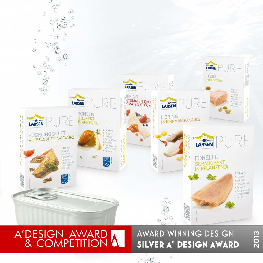 PURE seafood packaging