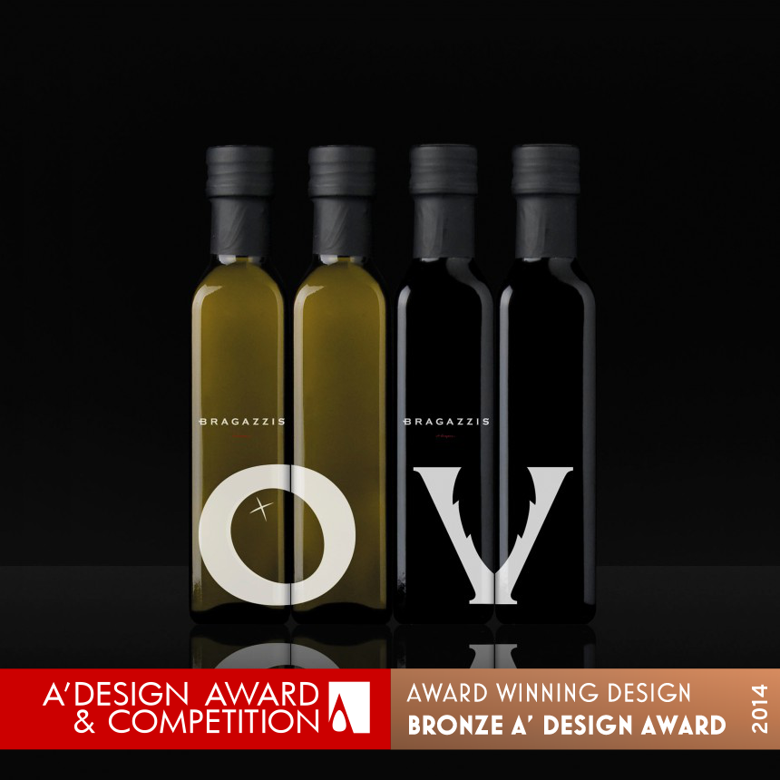 Bragazzis Olive Oil and Vinegar Typographic Excellence