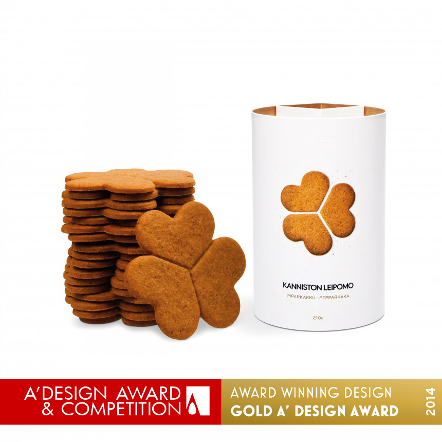 Kanniston Gingerbread Biscuits  Product-Packaging Innovation