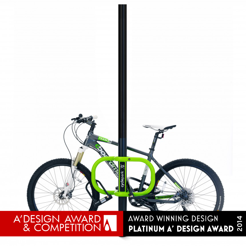 Smartstreets-Cyclepark™ Transformational bike parking