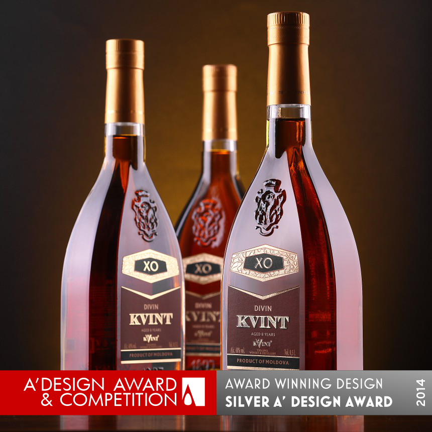 Kvint Series of Moldovan brandies