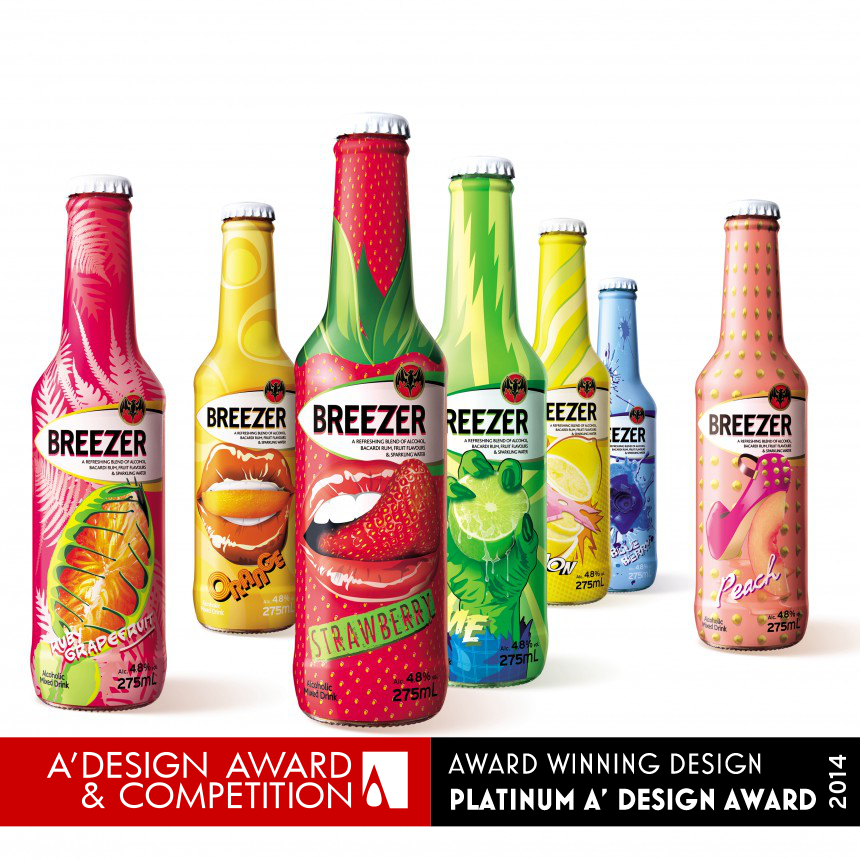 Breezer Be Bold Limited Edition Spirits