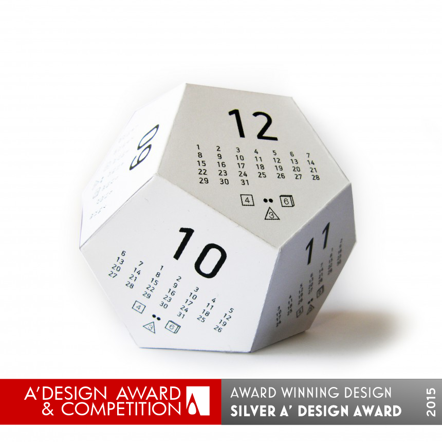 Dicecal Multifunctional Calendar