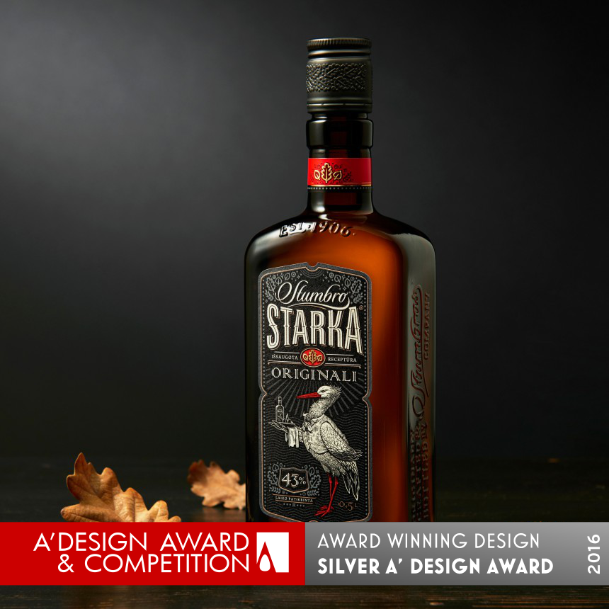 Stumbro Starka Bottle design and labels
