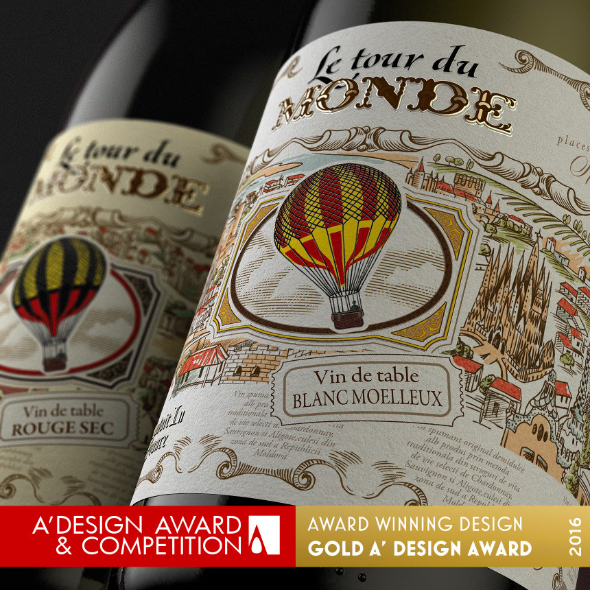 Le Tour De Monde Series of European wines