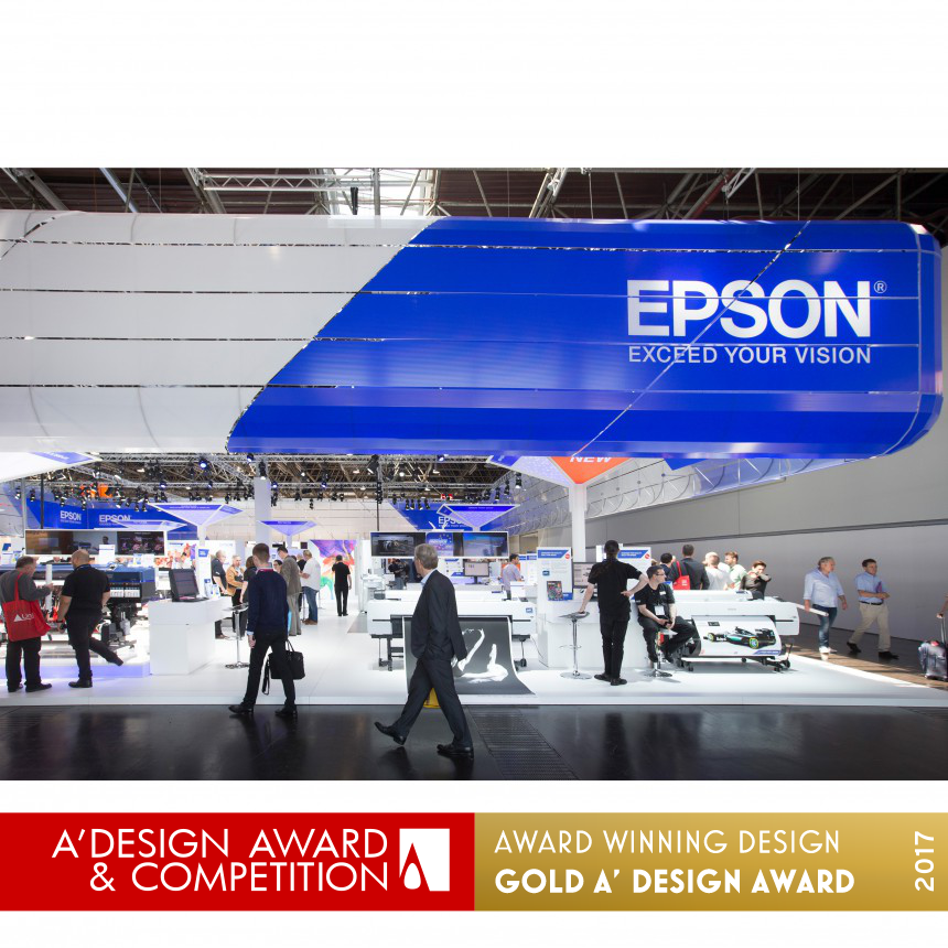 EPSON Drupa2016 Exhibition stand