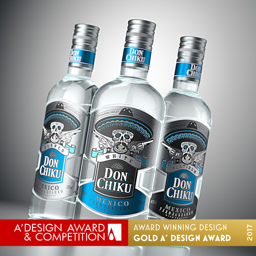 Don Chiku Tequila Packaging Design