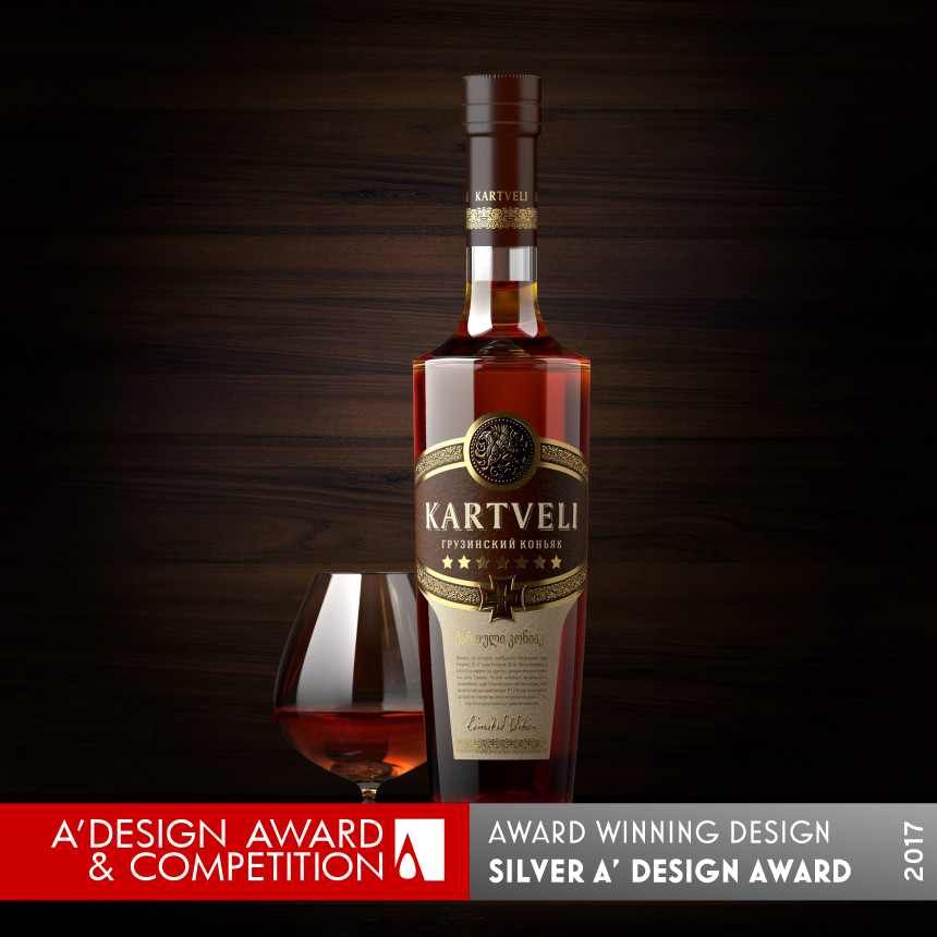 Kartveli Brandy Packagin Design