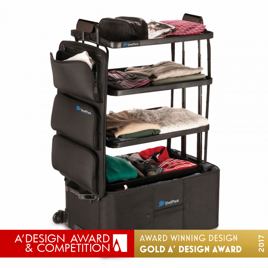 ShelfPack Luggage packing system