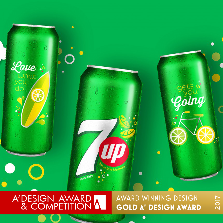 7up Sip Up Summer Series Limited Edition Aluminum Cans