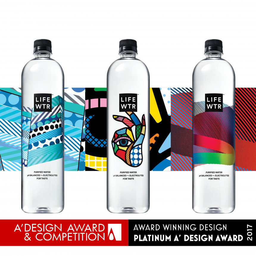LIFEWTR Series 1 Bottle Graphics