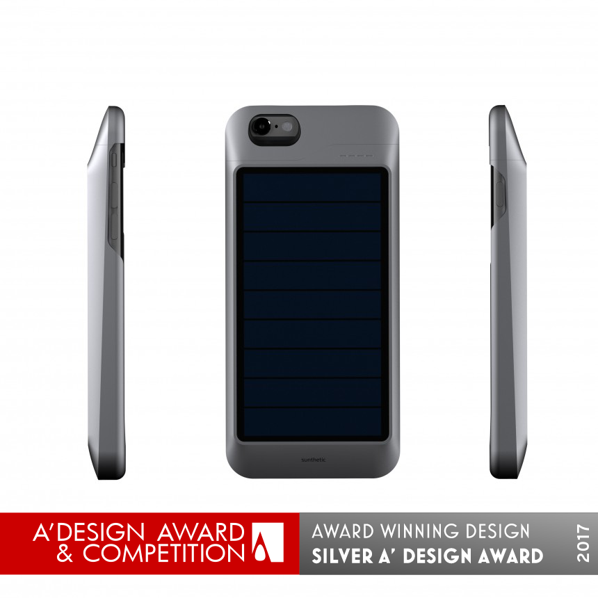 Sunthetic Solar case charger for iPhone