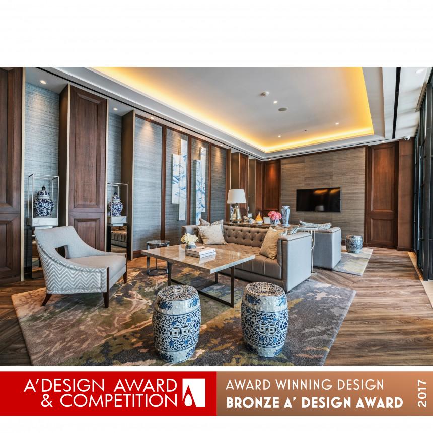 A Design Award And Competition Genius Loci Pte Ltd Ritz Condominium Lobby