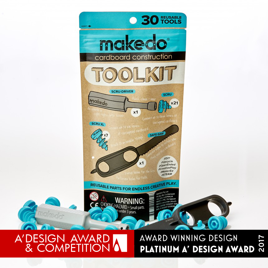 A Design Award And Competition Paul Justin Makedo Toolkit Cardboard Construction System