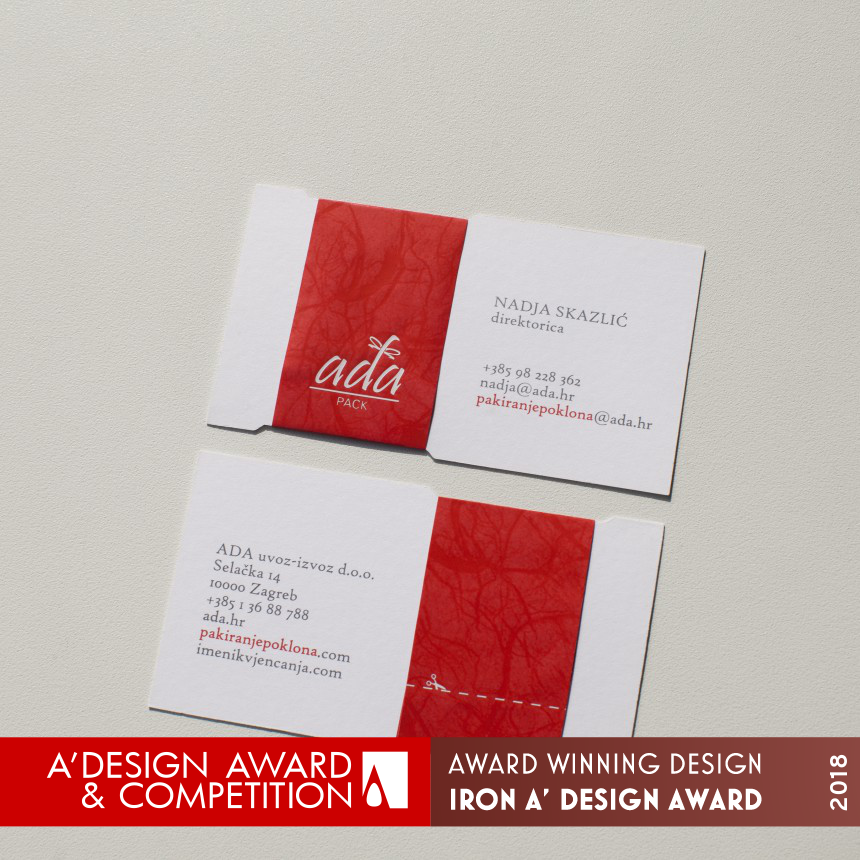 Ada Pack Business card