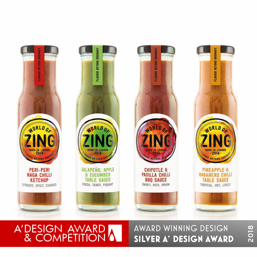 World of Zing Food sauces