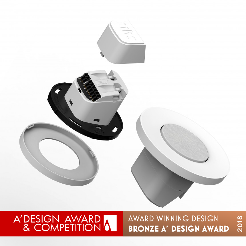 Flush on-off sensor Ceiling mount motion & presence detector