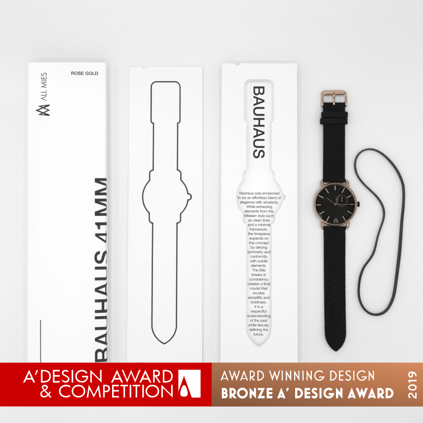 All Mies Watch Packaging