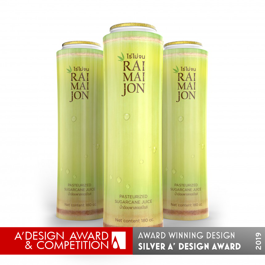Raimaijon Pasteurized Sugarcane Juice Packaging Design