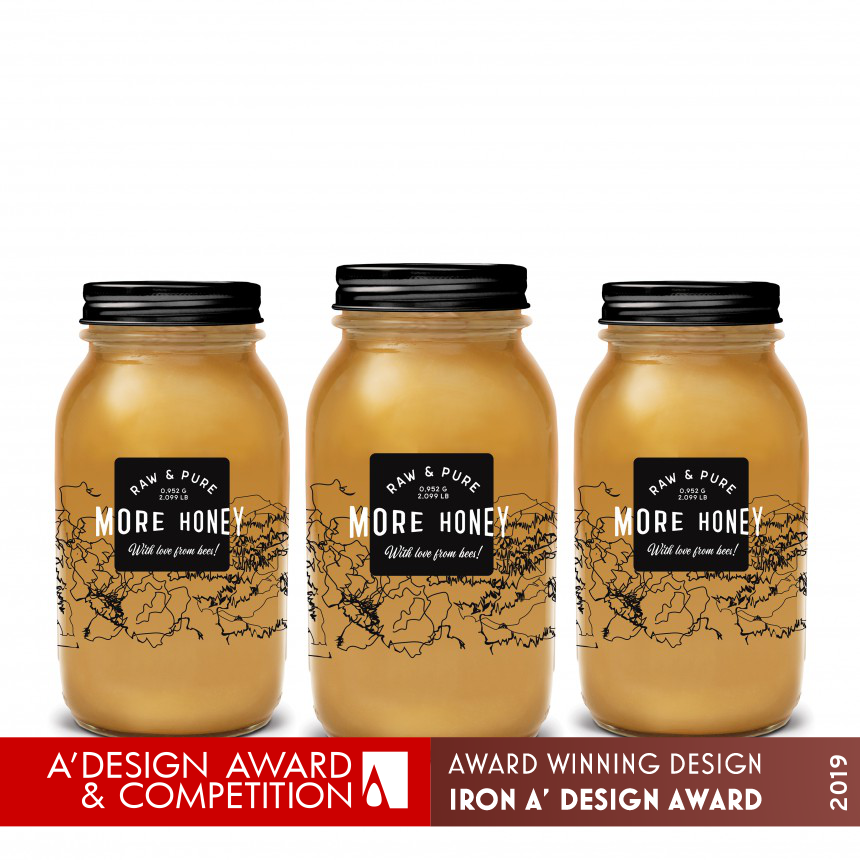 More Honey Packaging Design