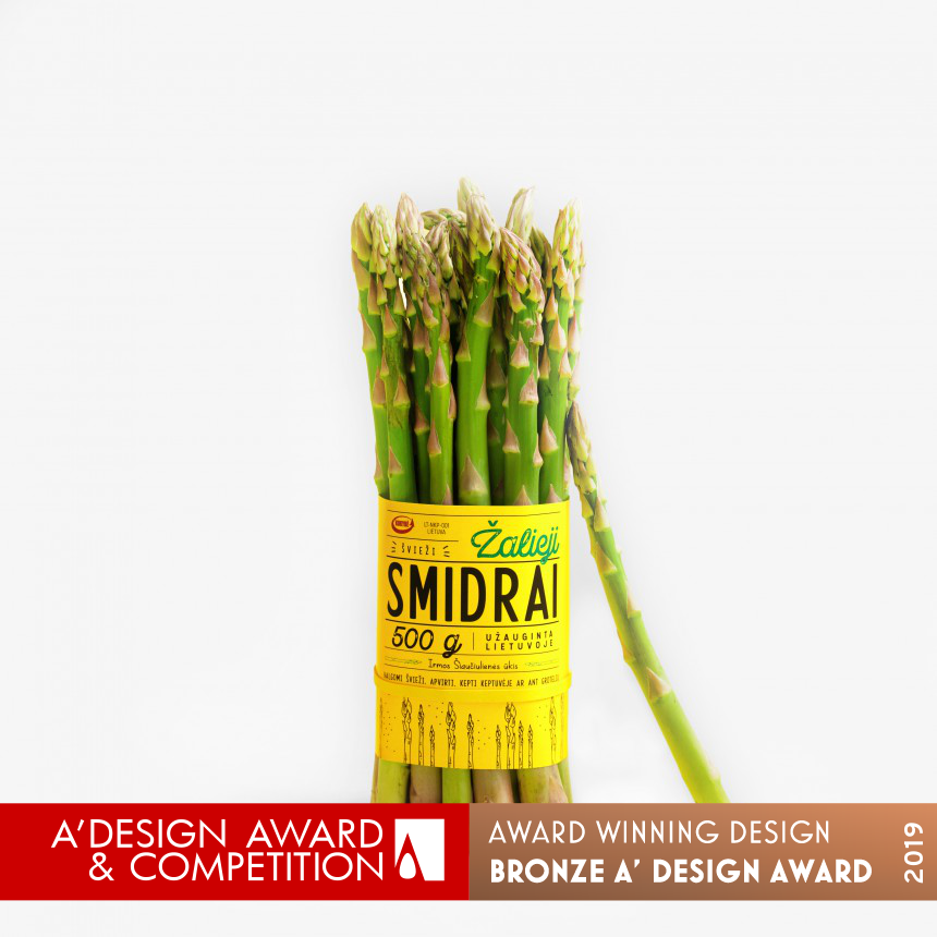 Green Asparagus Packaging Design