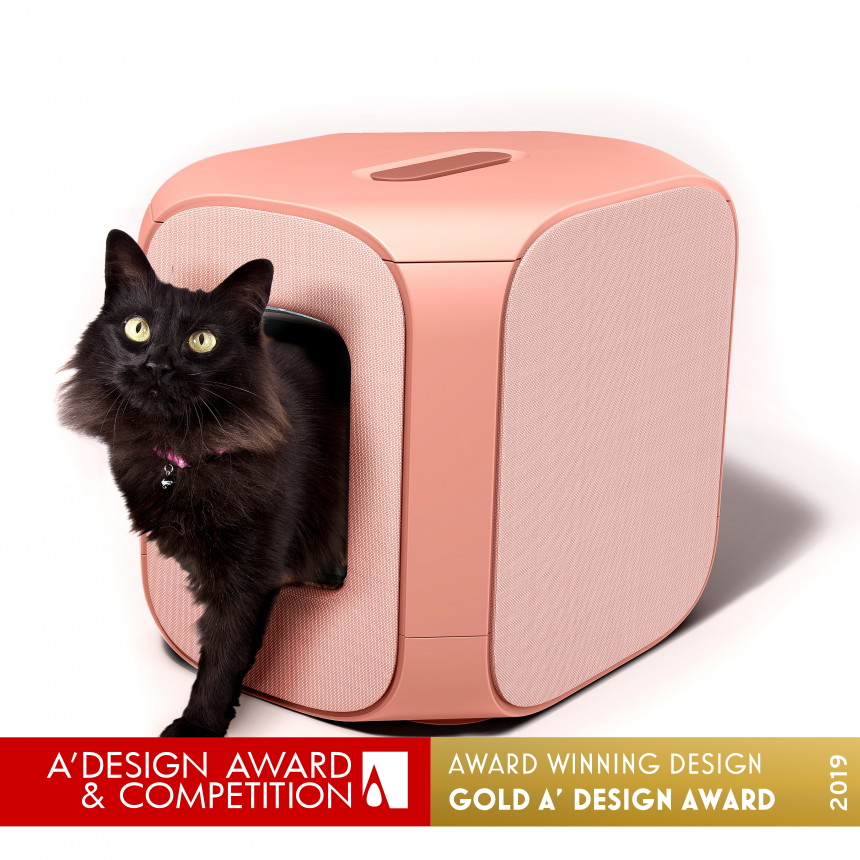 Gizelle Lifestyle Cat litter box