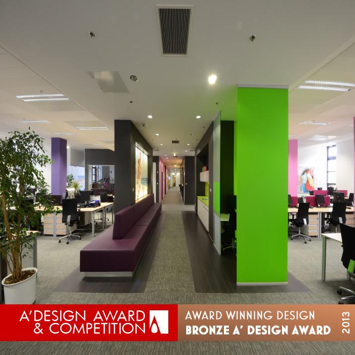 creative office interior. Reckitt Benckiser Office Design Creative Interior By Zoltan Madosfalvi